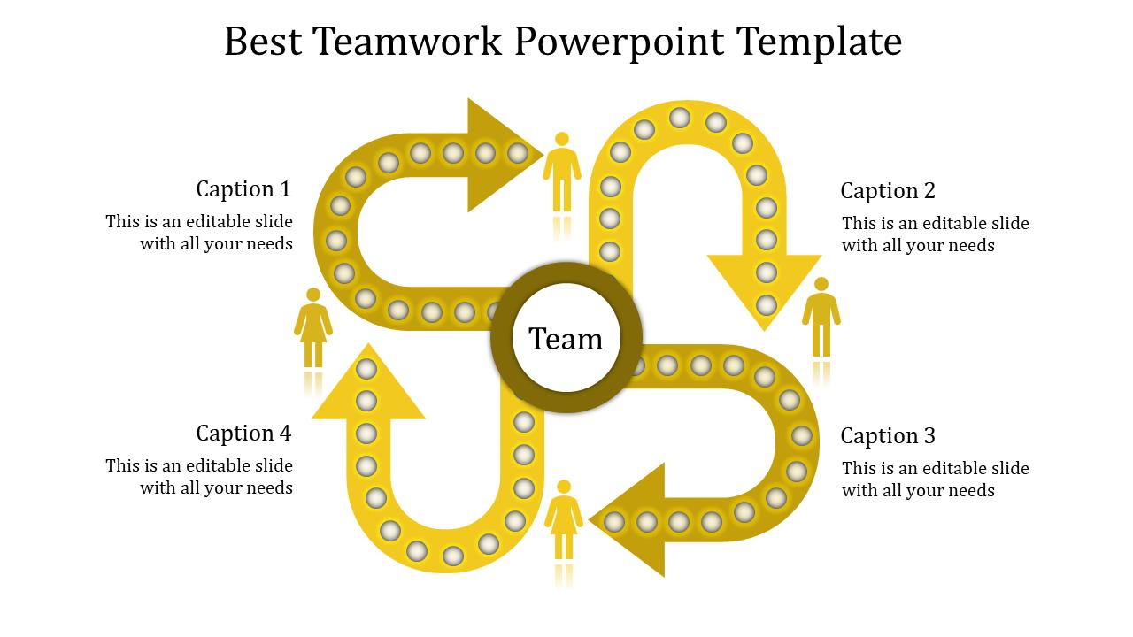 Create Better Teamwork Powerpoint Template