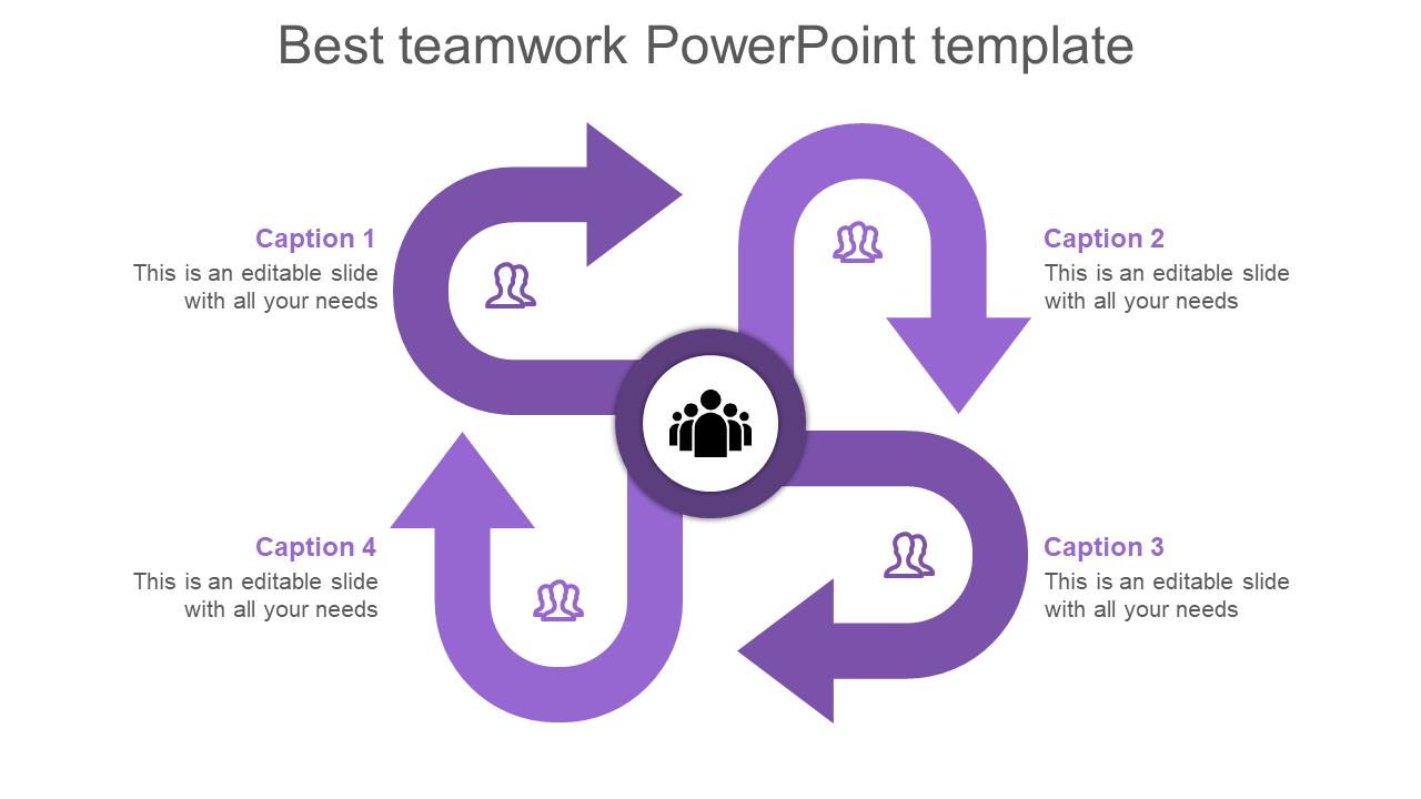 Art Of Teamwork Powerpoint Template