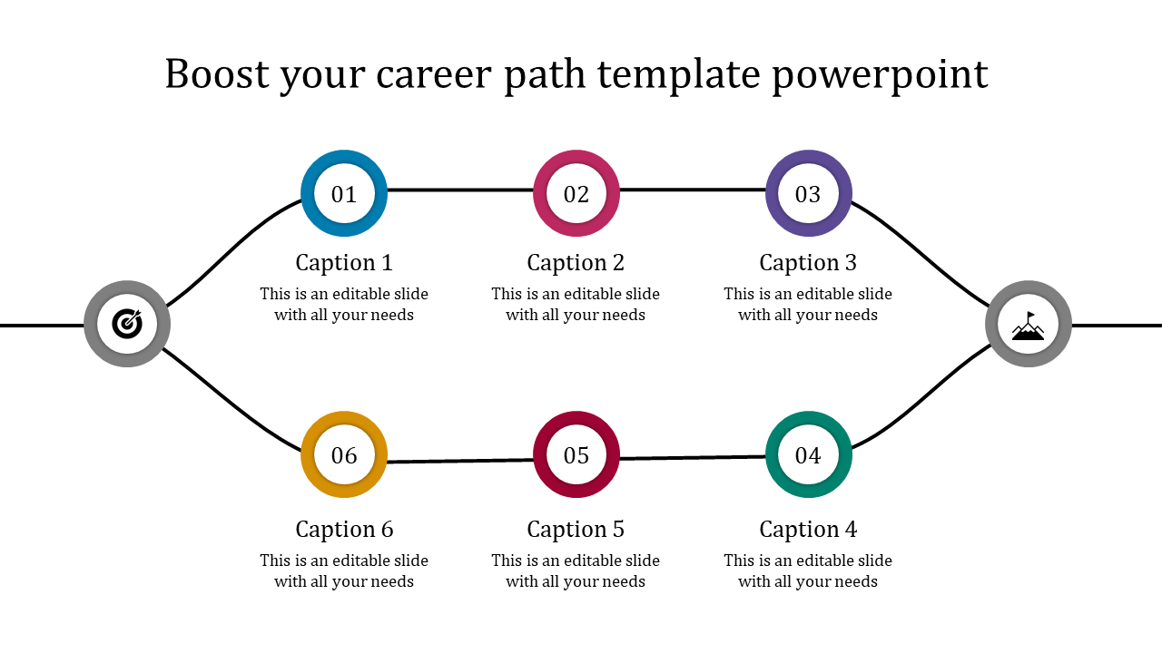 Career Path Plan Template from www.slideegg.com