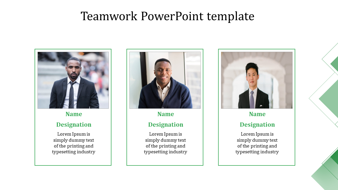 Top teamwork PowerPoint template