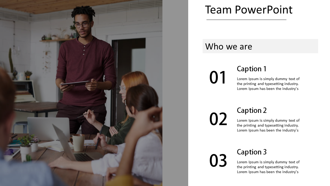 Effective team PowerPoint