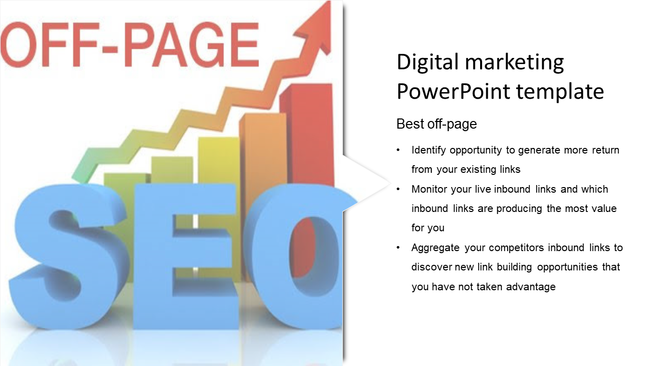 A One Noded Digital Marketing Powerpoint Template