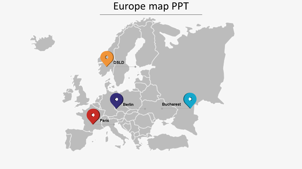 europe map ppt free download europe map PPT PowerPoint model  SlideEgg