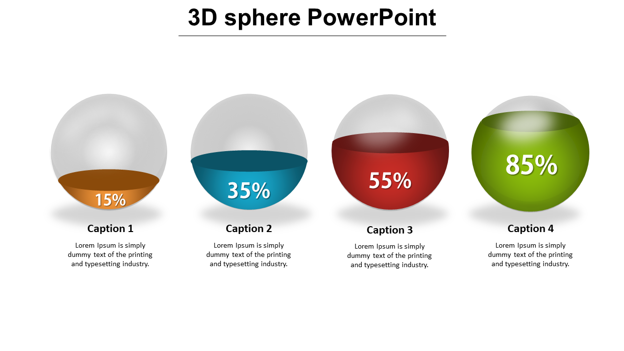3d Sphere Powerpoint PPT