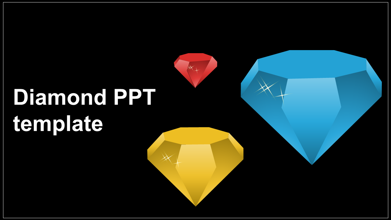 Awesome Diamond PPT Template