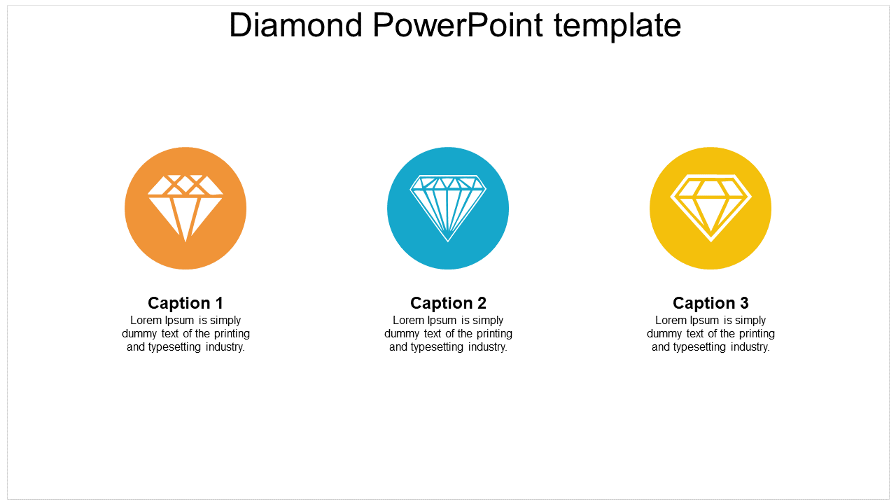 Best Diamond PowerPoint Template