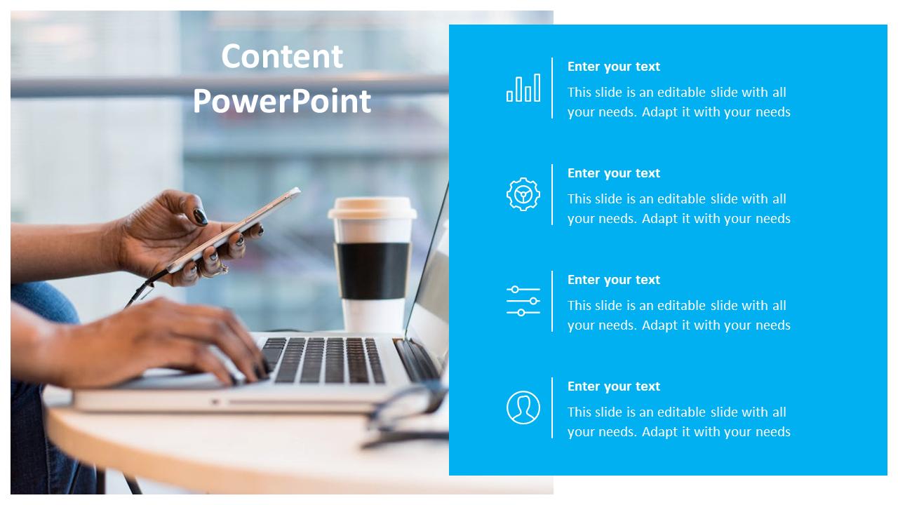 Content Powerpoint Template Presentation