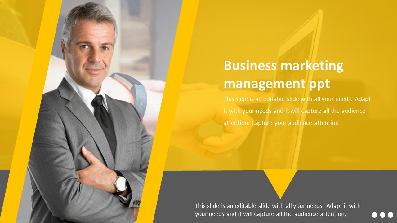 The Best Business Marketing Management PPT