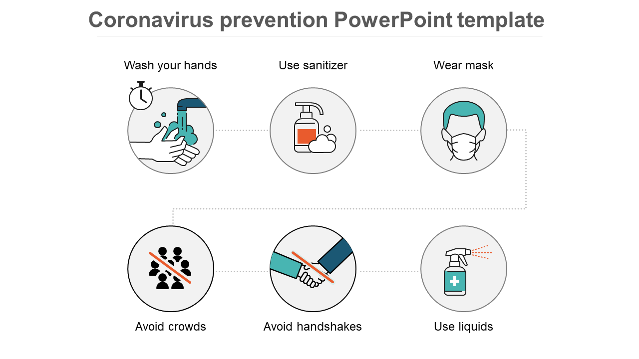 Coronavirus Prevention PowerPoint Template For People