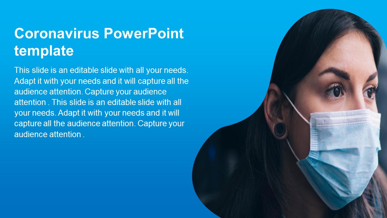 Coronavirus PowerPoint Template Design