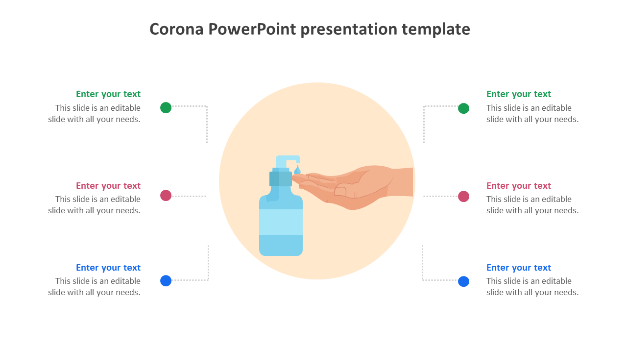 Prevention Tips For Corona PowerPoint Presentation Template
