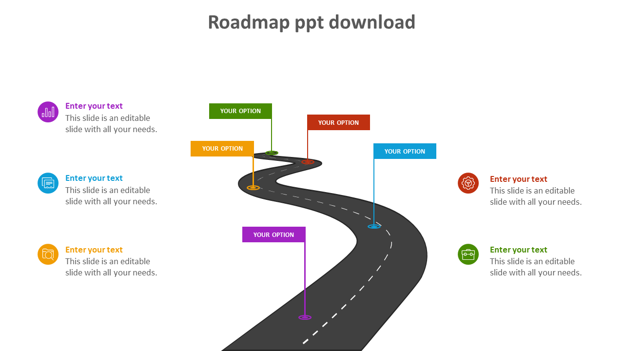 Effective Roadmap PPT Download
