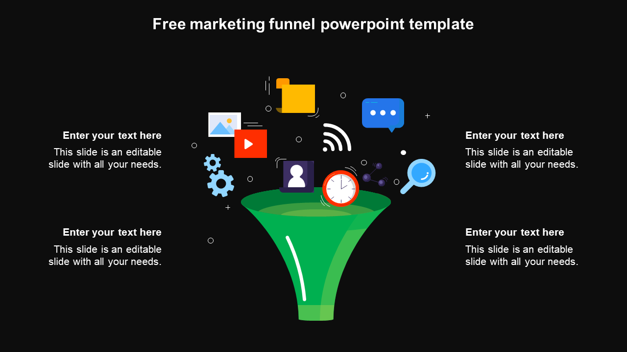 Free Marketing Funnel Powerpoint Template