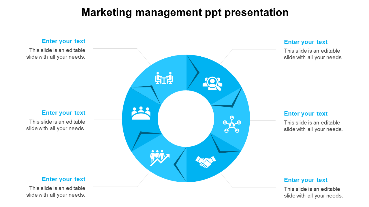 Creative Marketing Management PPT Presentation