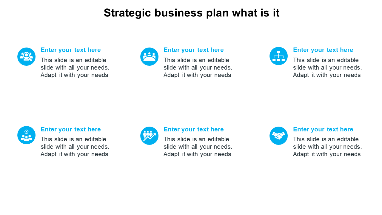 Simple Strategic Business Plan What Is It