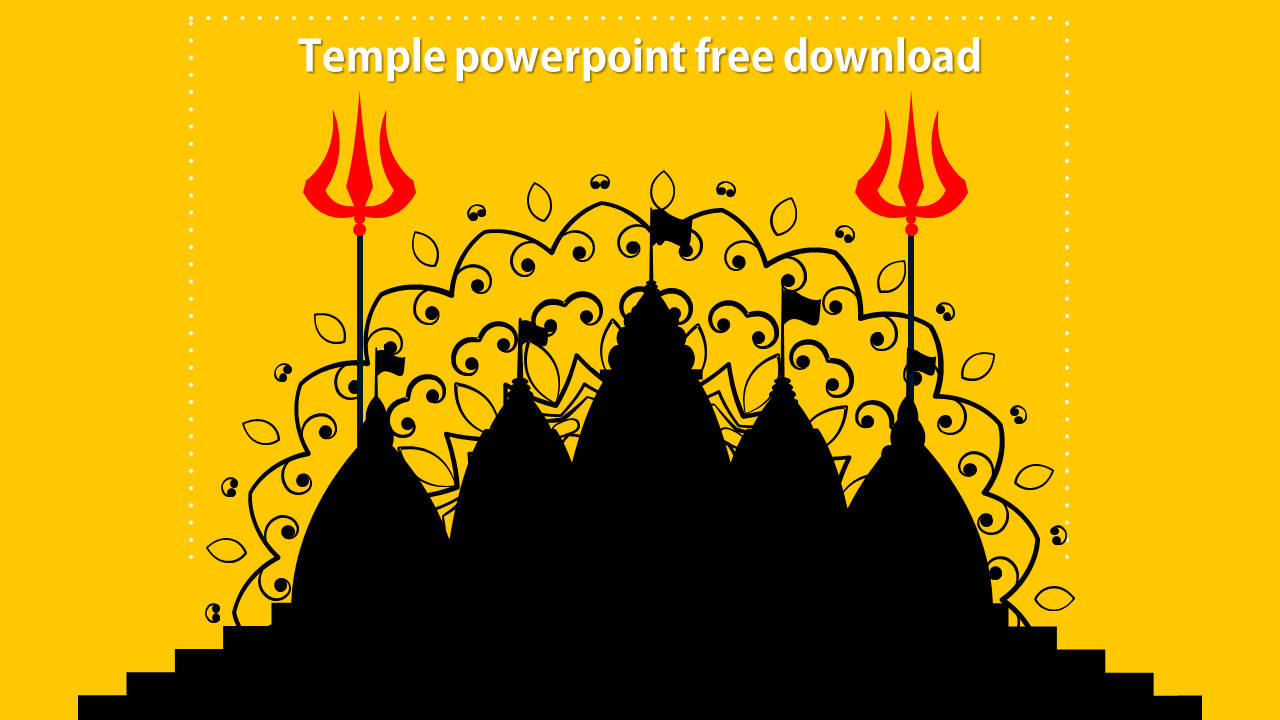 Free - Temple Powerpoint Free Download Model