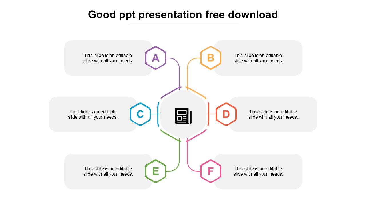 Good PPT Presentation Free Download Design