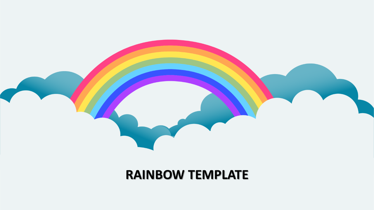 Rainbow Template Presentation
