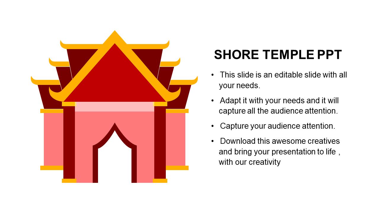 Shore Temple PPT Design