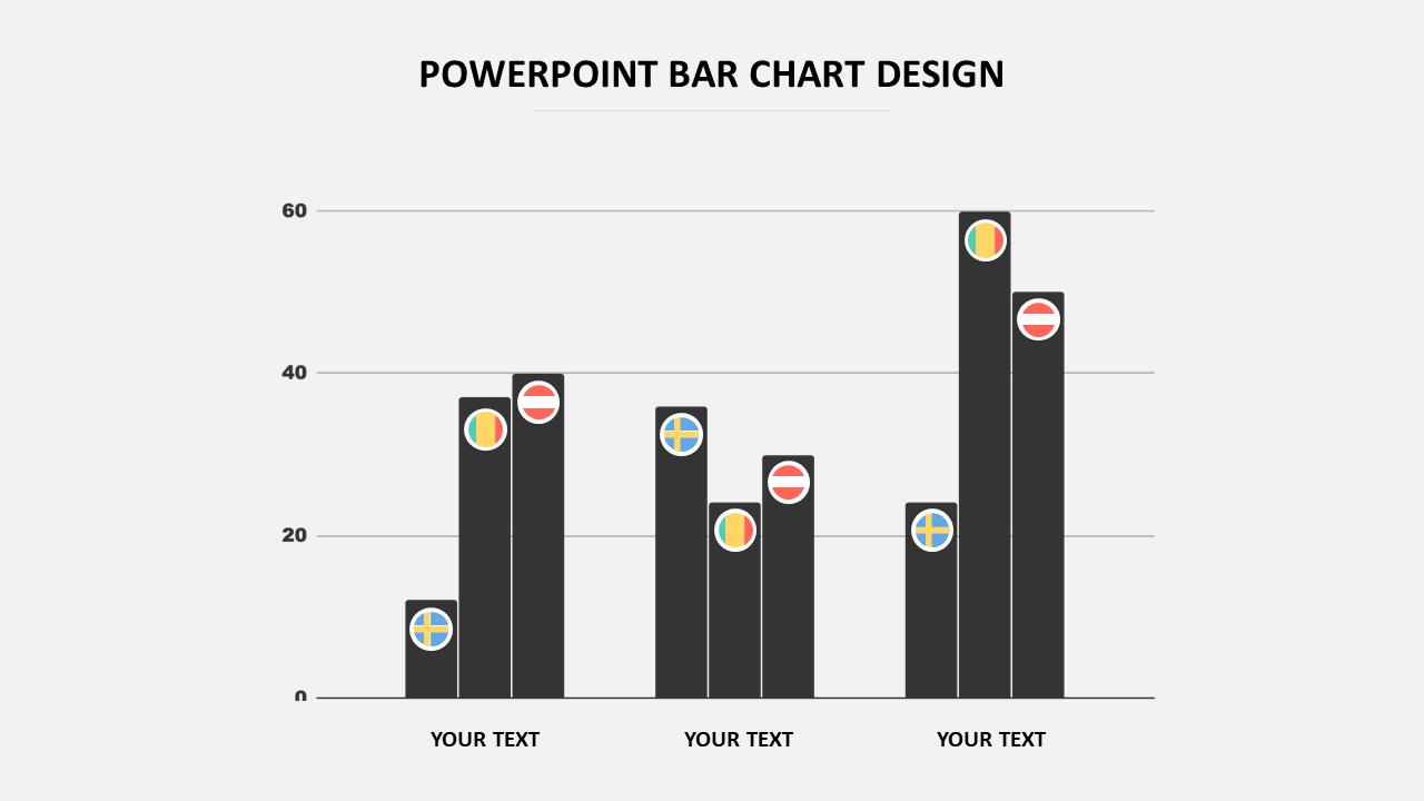 Simple Powerpoint Bar Chart Design