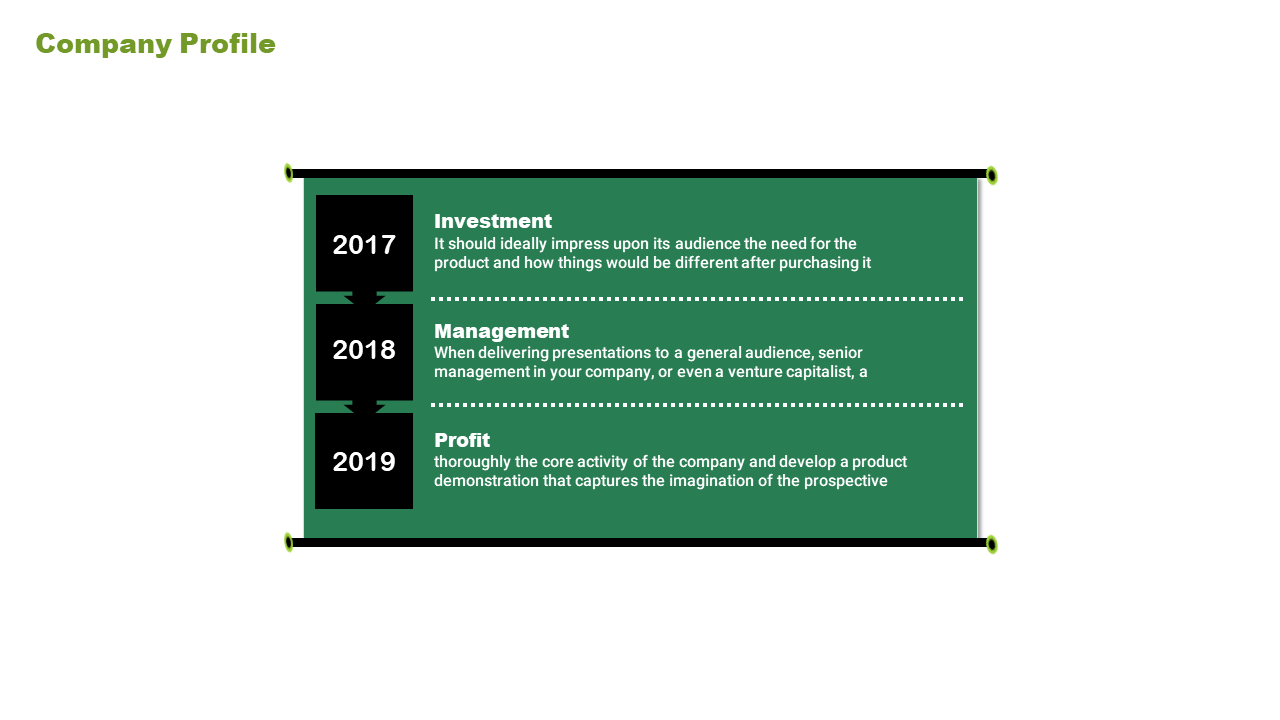 A Company Annual Report Powerpoint Prese