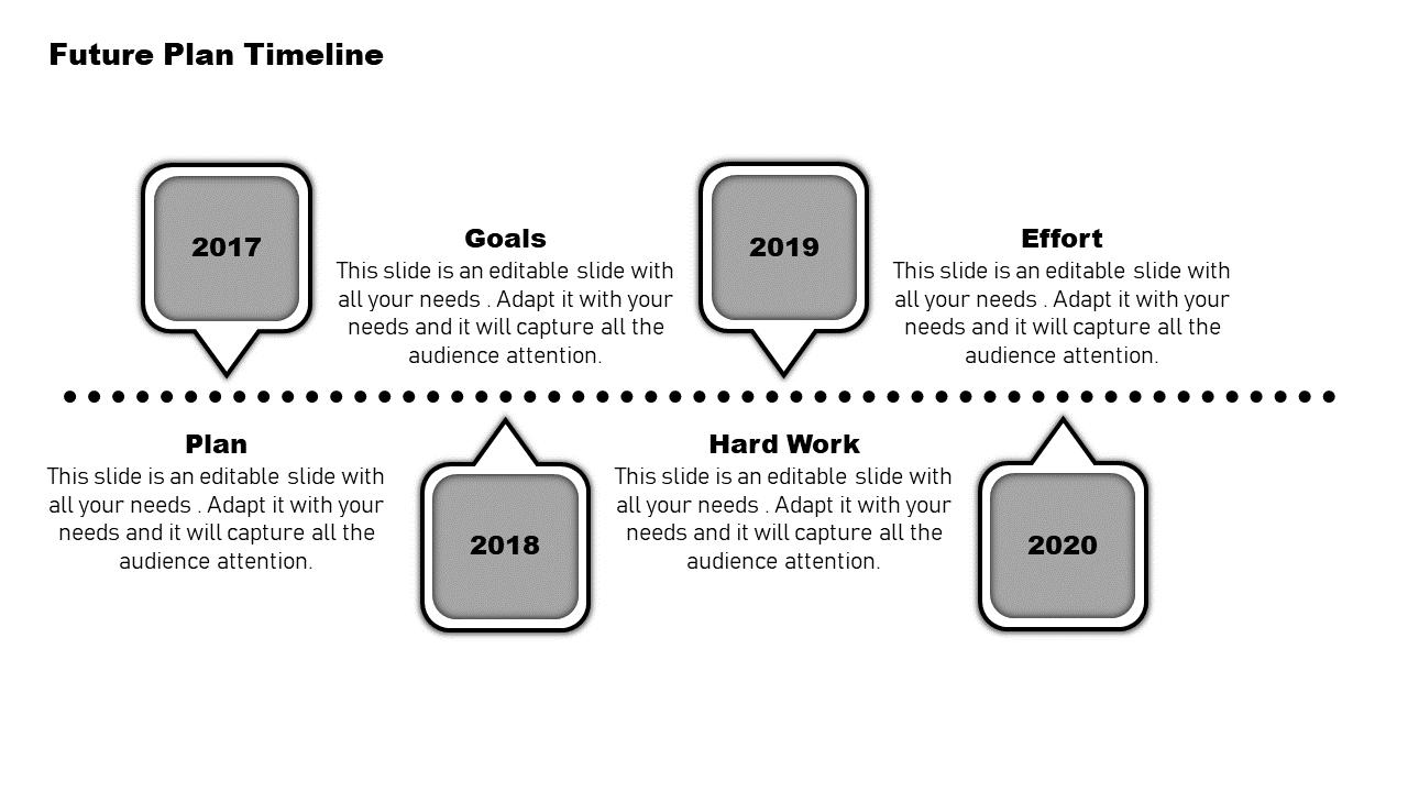 SlideEgg   project plan timeline template-Future-Plan