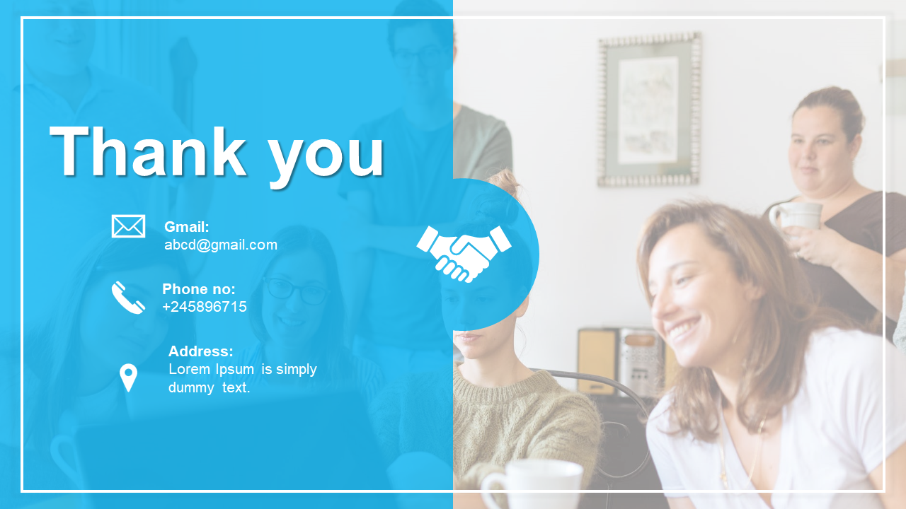 Best thank you slides for PPT