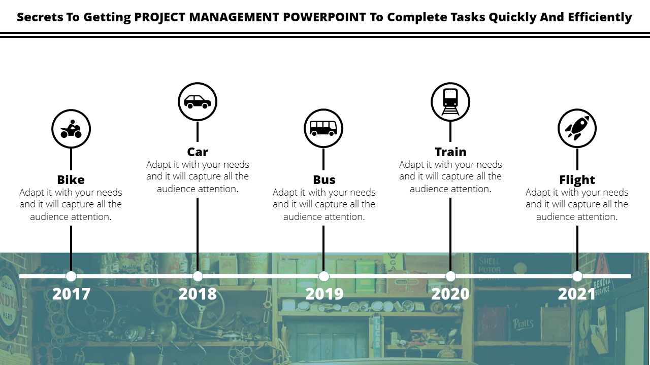 Timeline Project Management Powerpoint