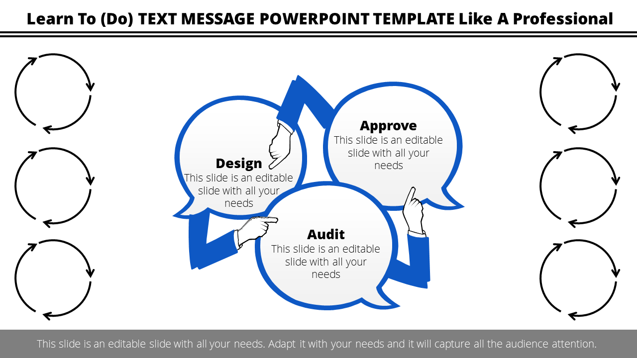 Free-text Message Powerpoint Template