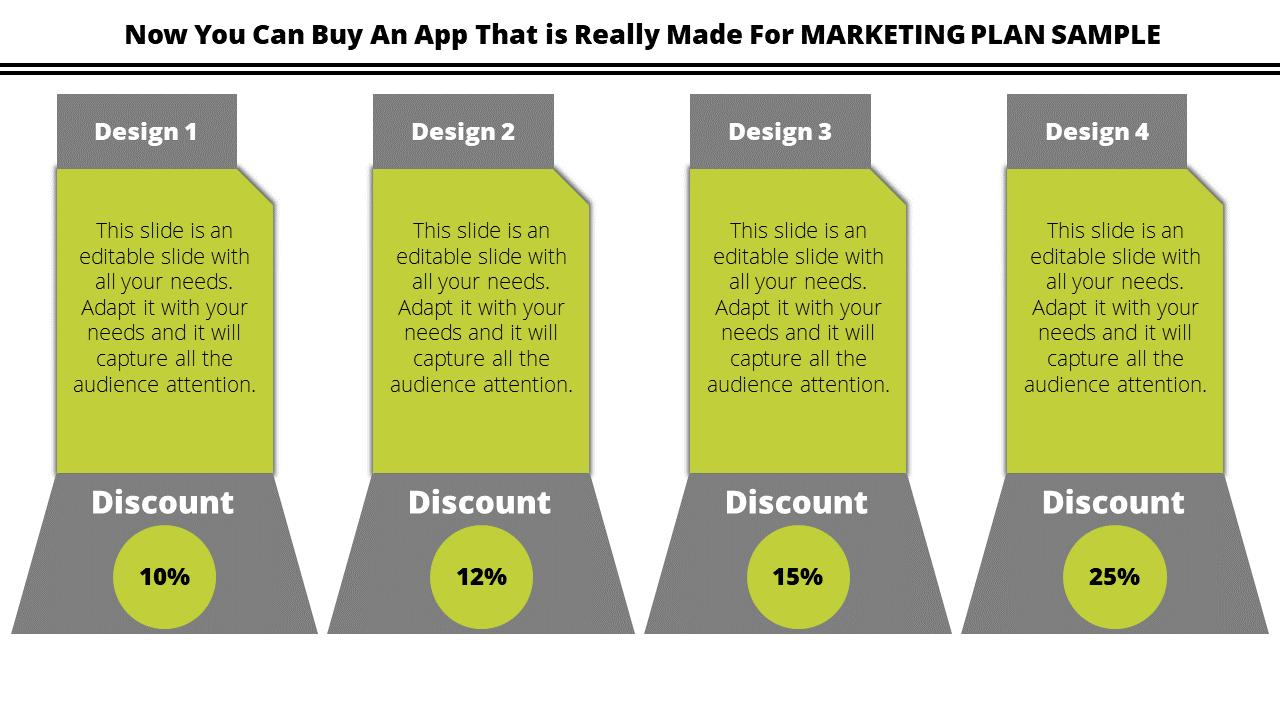 Free - Marketing Plan Sample - Discount
