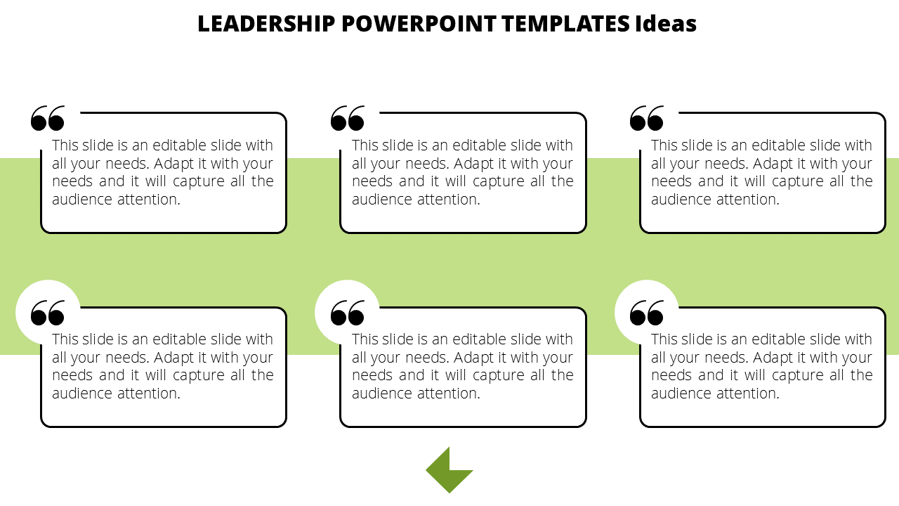 Leadership Powerpoint Templates Quotes