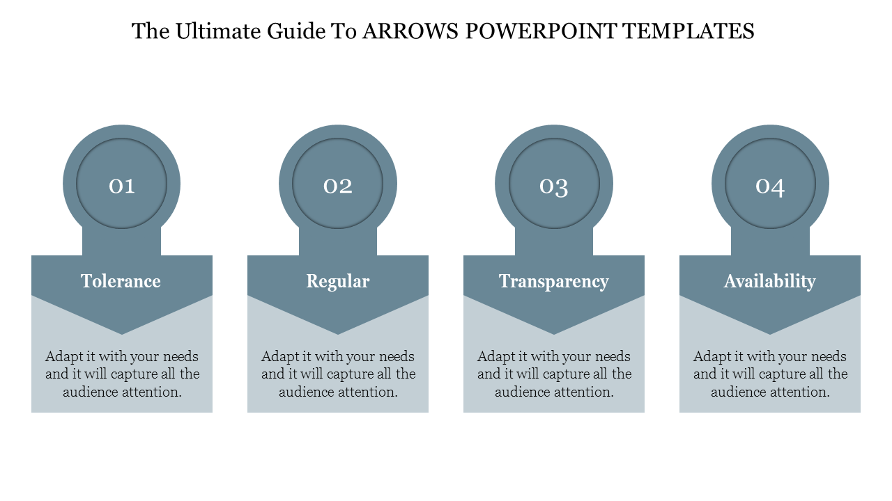 Free - Editable Arrows Powerpoint Templates