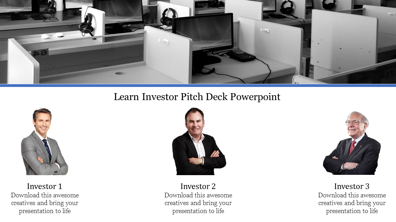 Portfolio Investor Pitch Deck Powerpoint