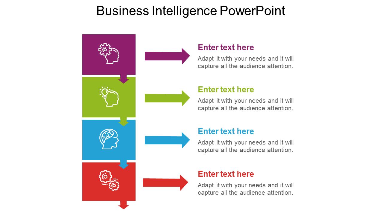 Business Intelligence Powerpoint Slide Slideegg
