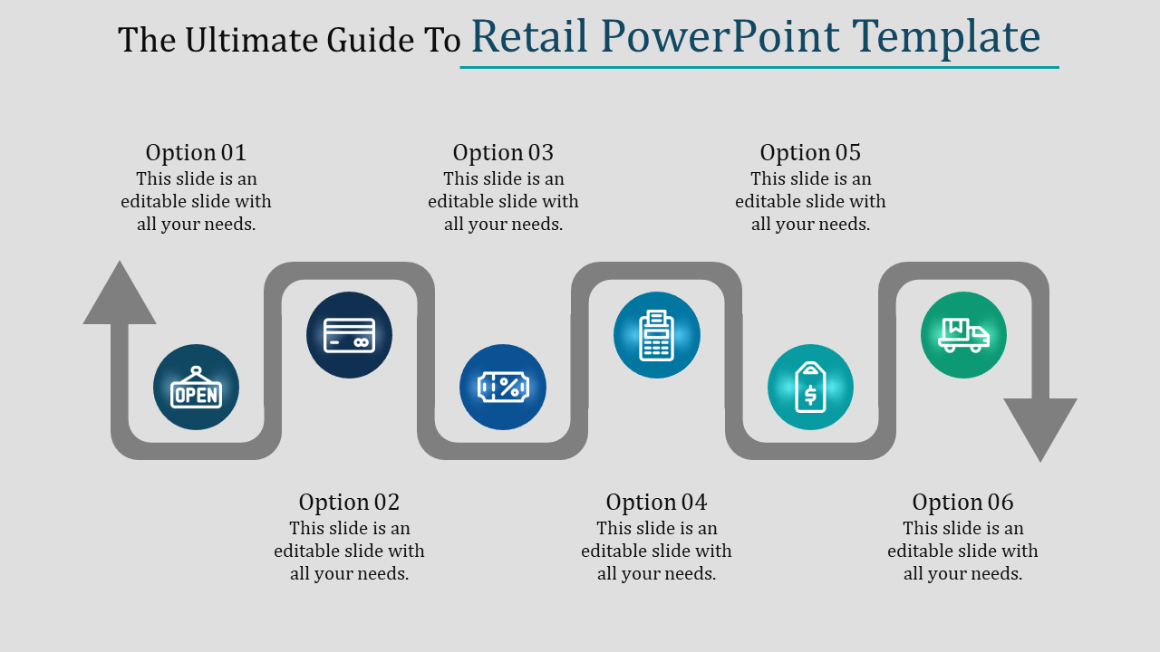 retail powerpoint template