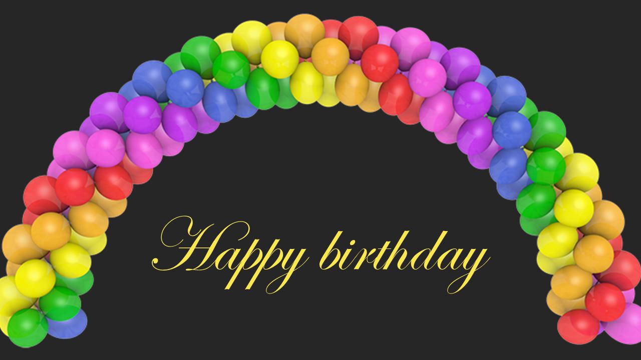 Free-Best Happy Birthday Powerpoint