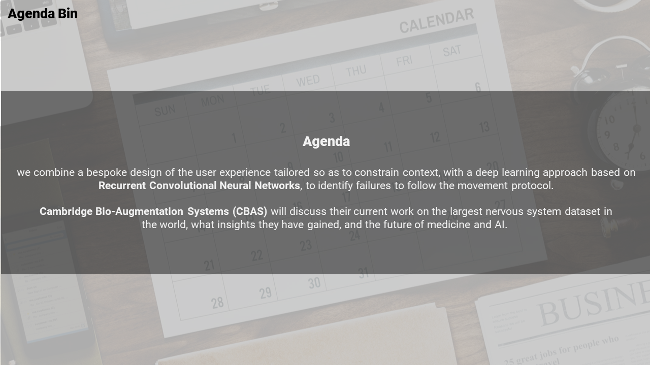 Free-powerpoint Agenda Template-a Single Noded