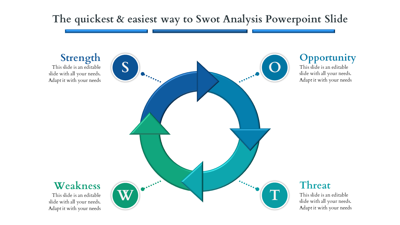 Market Search Swot Analysis Powerpoint Slide
