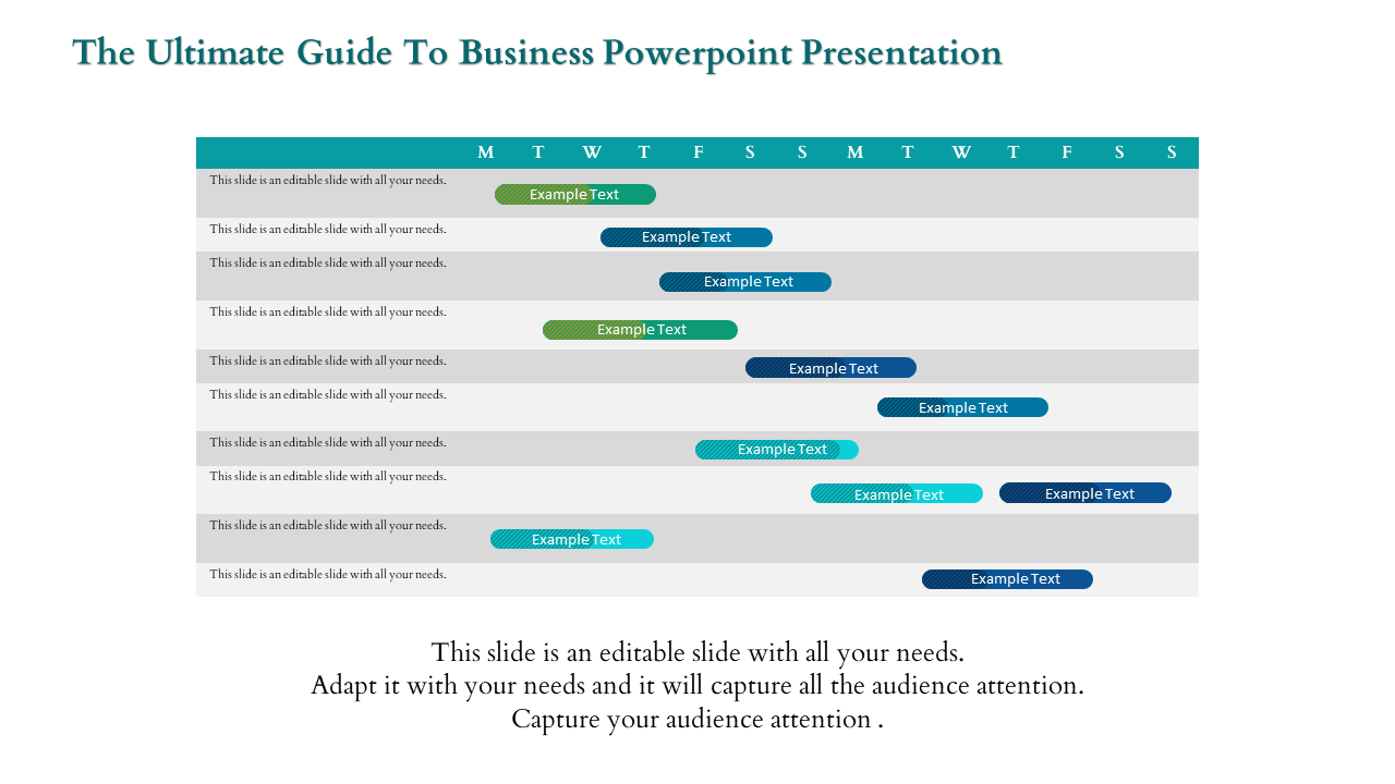 Free-business Powerpoint Presentation