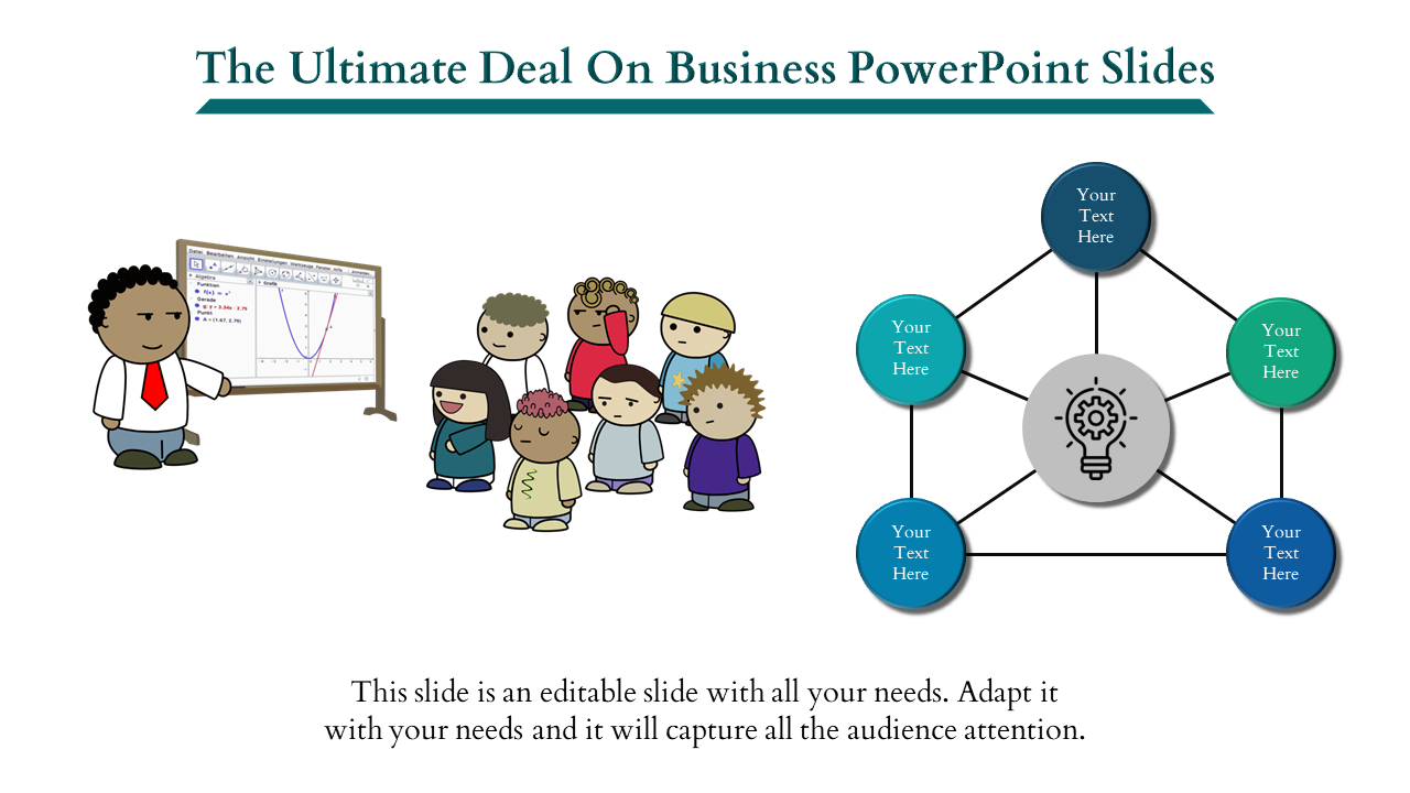 Free-Business Powerpoint Slides - 5 Parts