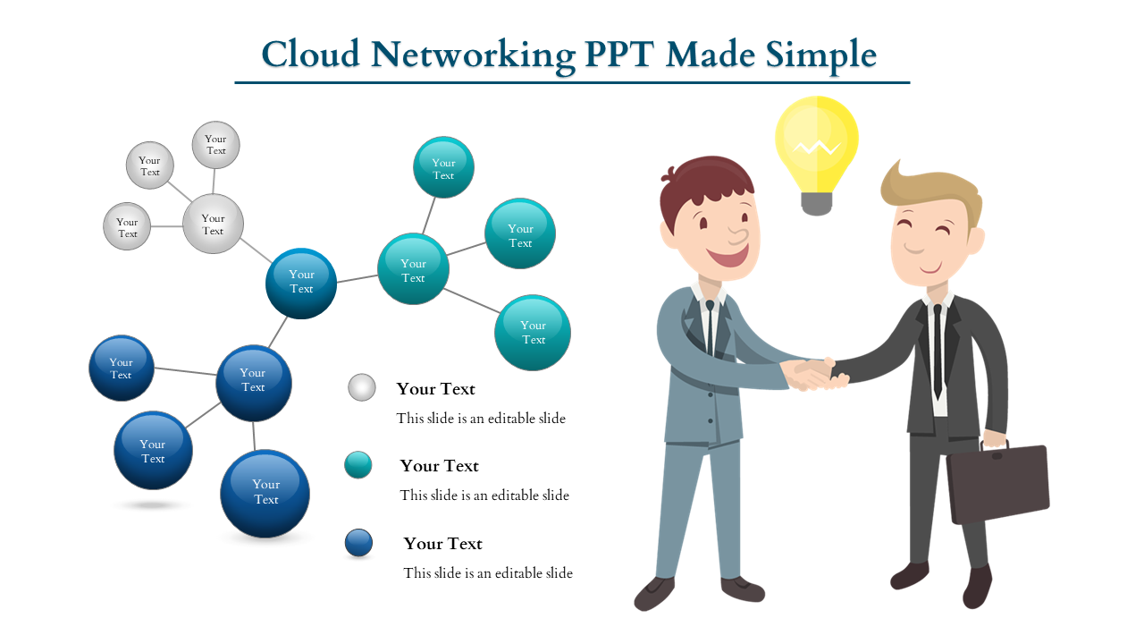 Free-Cloud Networking PPT - One To Many