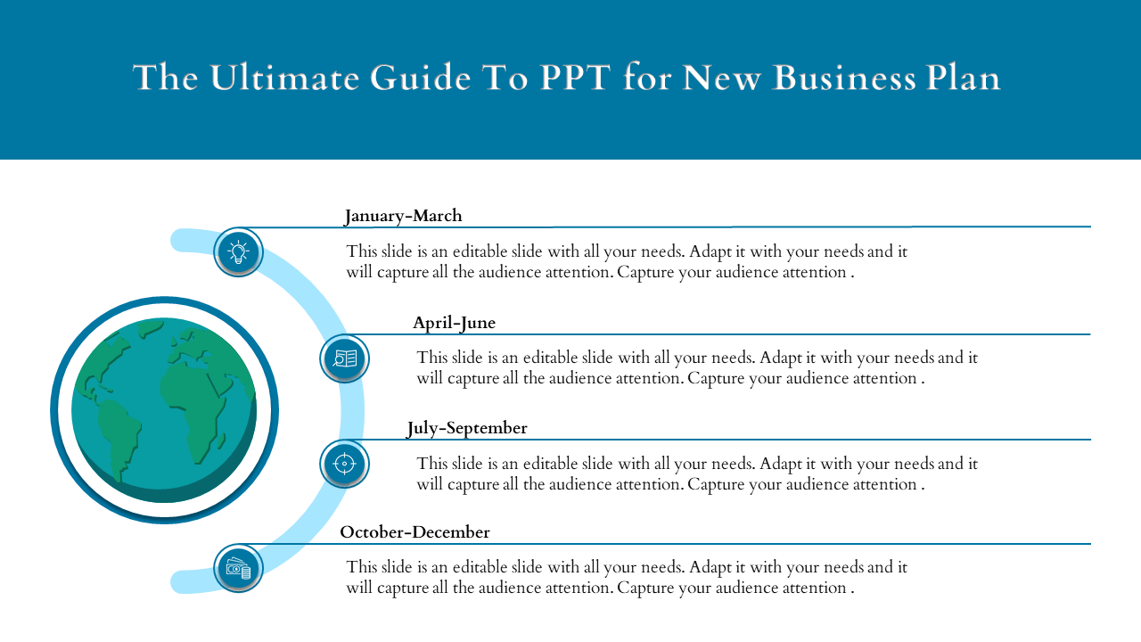 Free-PPT For New Business Plan