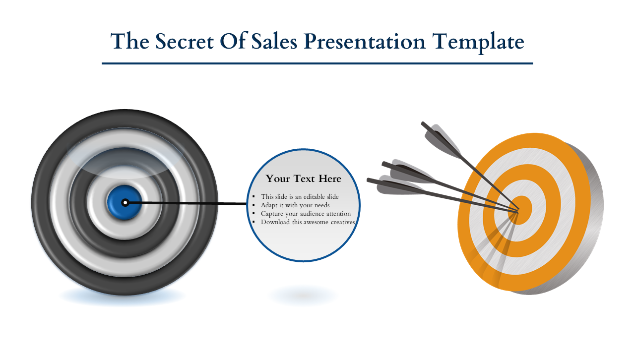 Free-Goal Sales Presentation Template