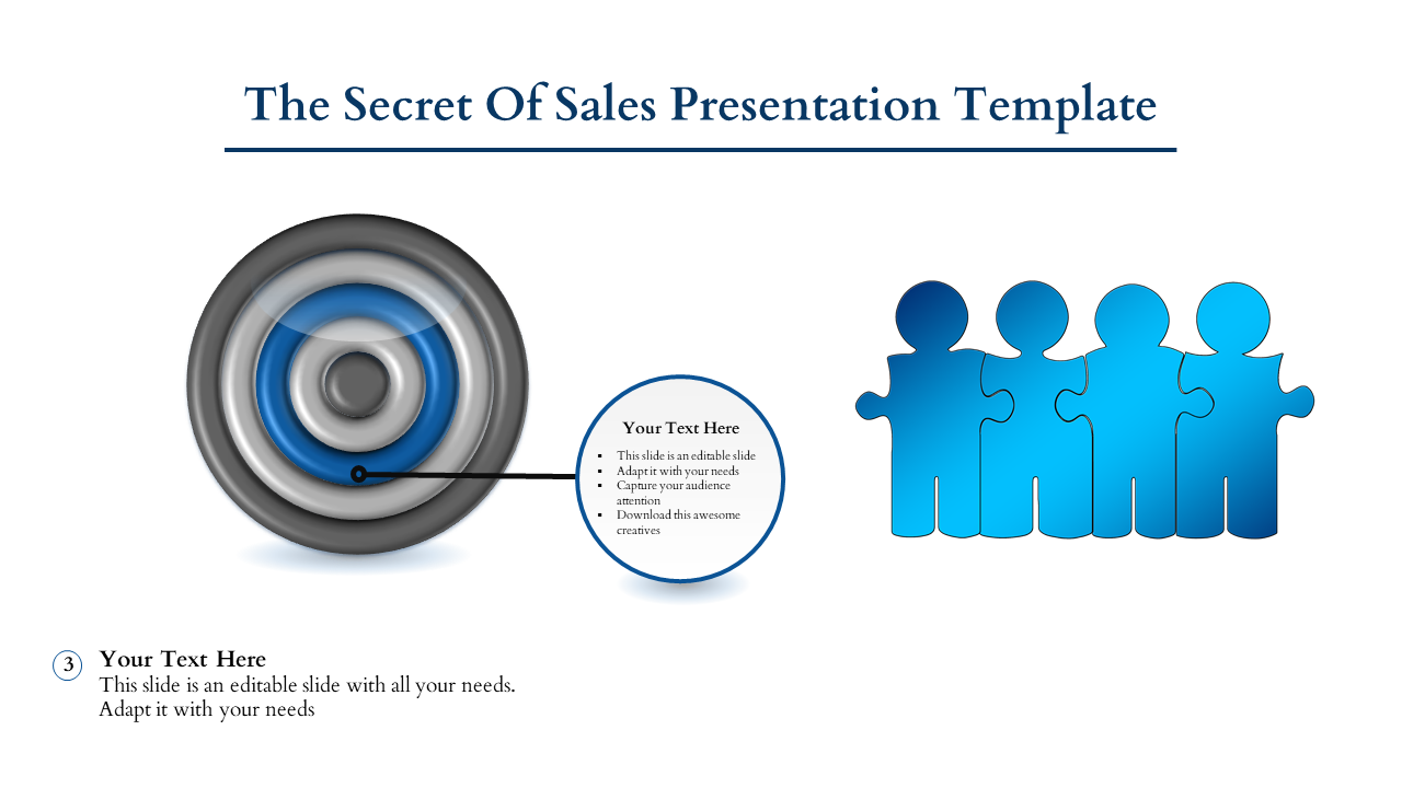 Free-Concentric Sales Presentation Template