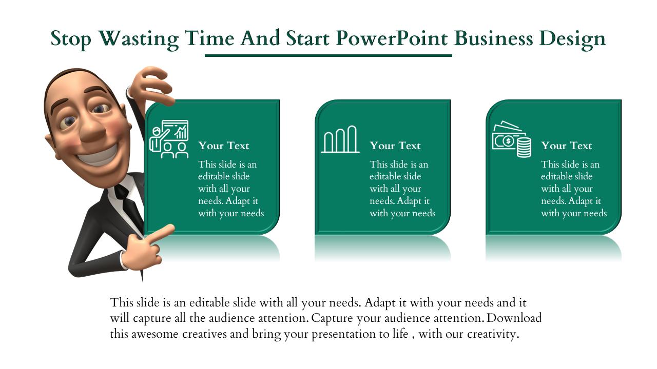 Powerpoint Business Design- Linear Model