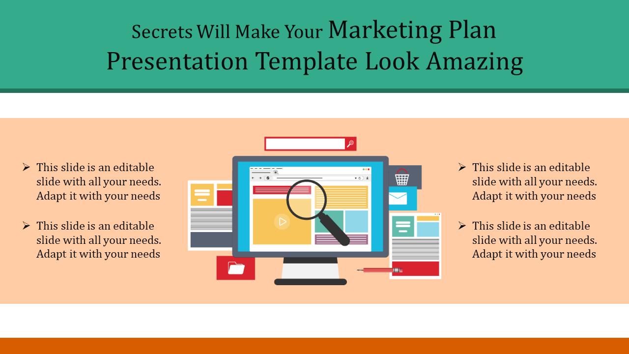 Marketing Plan Presentation Template from www.slideegg.com