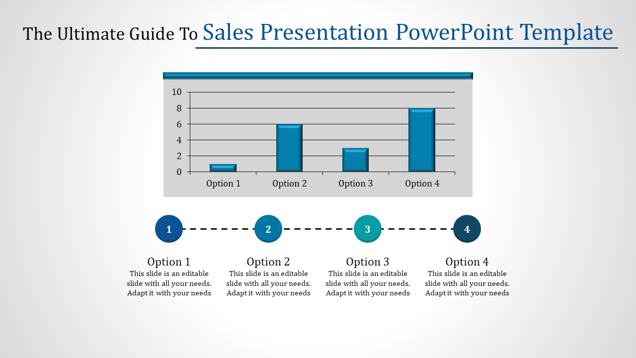 Growth Sales Presentation Powerpoint Template