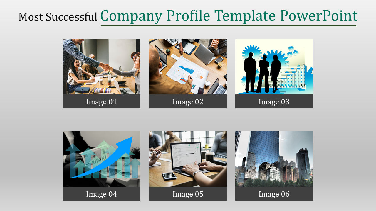 Company Profile Template Powerpoint Design