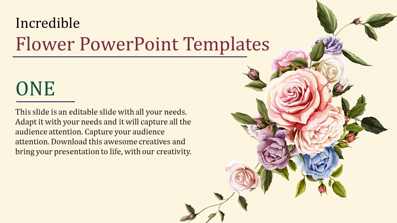 Flower Powerpoint Templates Slideegg