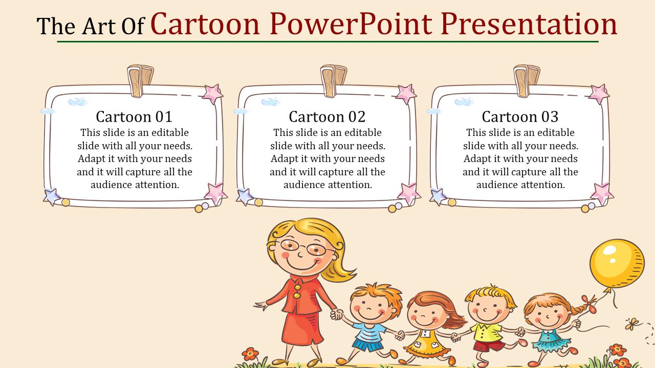 Cartoon Powerpoint Presentation For Kids